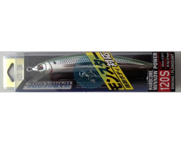 duel hardcore minnow power 120s f947-hoks