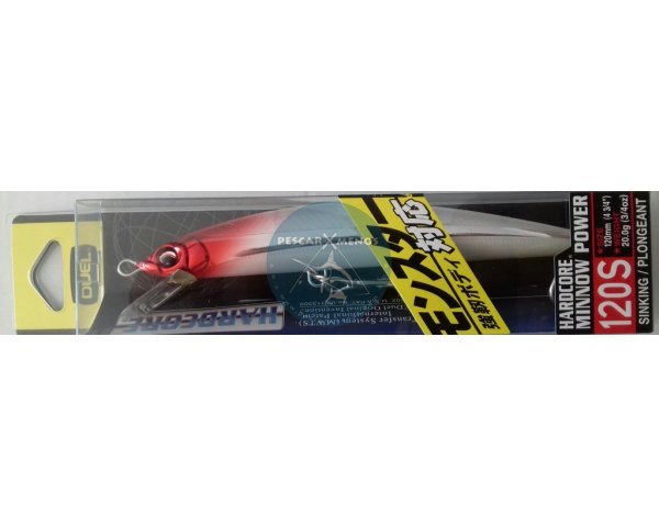 duel hardcore minnow power 120s f947-phrh