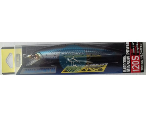 duel hardcore minnow power 120s f947-ciw